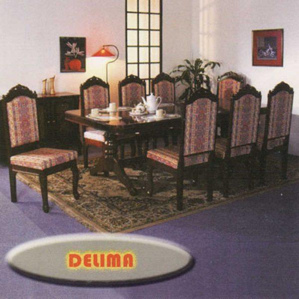 Delima 6 Seater Dining Table Set