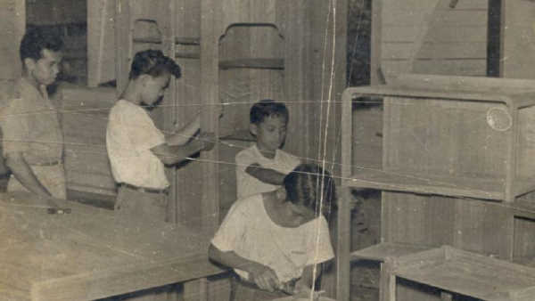 Hamid Tukang Kayu Apprentice, Learning and Working Program 1960s
