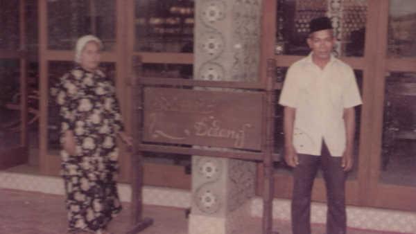 Tuan Hj Abdul Hamid and his wife Allahyarhamah Bonda Hjh Zabeadah