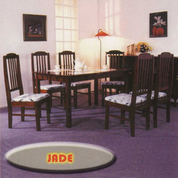 Jade 6 Seater Dining Table Set